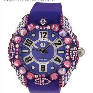 TENDENCE CRYSTAL ART WATCH 02013107, MSRP $450